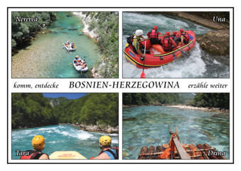 Rafting in Bosnien